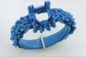 3D printed wax ring (SLA)